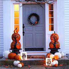 Decorated Porch
