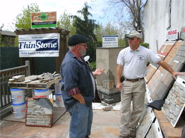 Mike takes the time to explain the advantages of using Authentic ThinStone on you project.