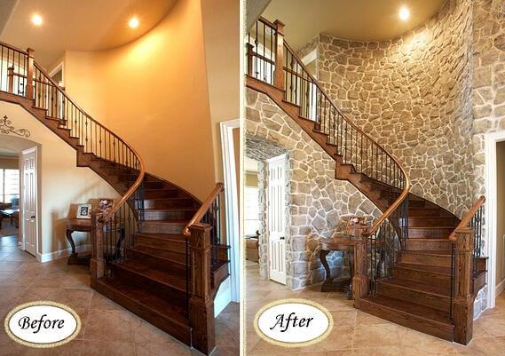 Veneer Staircase
