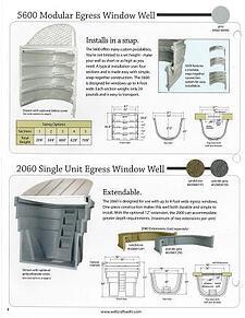 Wellcraft Egress Well Models 5600 & 2060